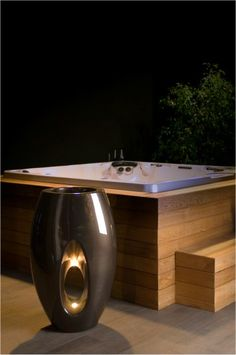 hot tub surround Wouldn't mind one of these
