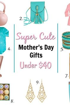 Super Cute Mother's Day Gifts Under $40
