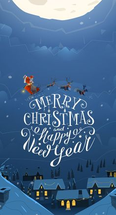 - iPhone wallpaper 39 beautiful Christmas illustrations, Christmas illustrations for free, Christmas -