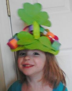 8 Fun St. Patrick's Day Craft Ideas. Have a parade around school.