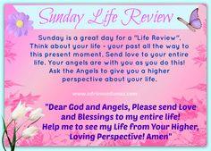 #LifeReview #Prayer #PrayerHealing #Angels #God #AdrienneDumas #Sunday #SundayLifeReview ☆ ✿ FREE Angel Blessings eKit at: http://www.adriennedumas.com/free-newsletter.php