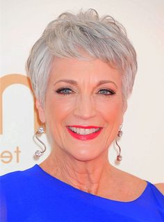 Older Women Short Hairstyles Gray Hair