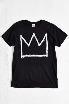 Junk Food Basquiat Crown Tee