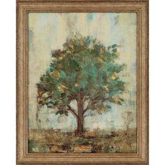Verdi Trees I by Vassileva Framed Painting Print