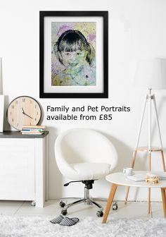 Family portraits from £85 #art #artist #portrait