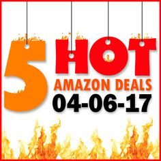►► 5 HOT AMAZON DEALS – 4/6/17 ►► #Amazon, #Bargain, #Clearance, #Closeout, #DailyDeal, #Dealoftheday, #Deals, #Discounts, #Frugal, #FrugalFind, #HotBuys, #LowestPrice, #Sale ►►
