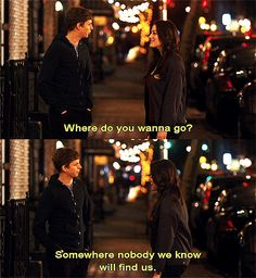 Nick and Norahs Infinite Playlist - Michael Cera and Kat Dennings. Loooove this film! Teen Movies, Good Movies, Movie Tv, Best Movie Quotes, Film Quotes, 100 Reasons Why I Love You, Nick And Nora, Mikey, Movie Lines
