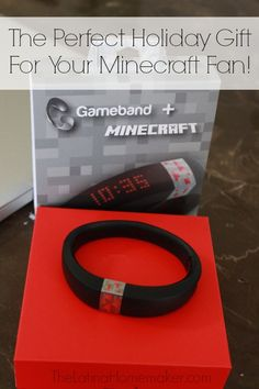 Gameband-The Perfect Holiday Gift For Your Minecraft Fan. Need a gift idea for your Minecraft fanatic? Check out the new Gameband that's one of the hottest items for this holiday season! @MyGameband #GameOnTheGo #ad