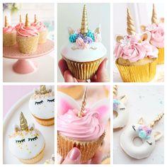 My 6 fav unicorn cupcakes!!