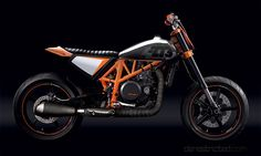 Garage Project Motorcycles • This guy (and a bunch of his mates) are KTM nuts...