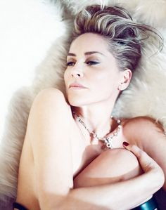 Sharon Stone by Norman Jean Roy