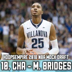 In our 2018 NBA Mock Draft the Charlotte Hornets select Mikal Bridges! Do you agree? 10. CHA - Mikal Bridges 11. LAC - Collin Sexton 12. PHI - Kevin Knox 13. DEN - Lonnie Walker IV 14. LAC - Robert Williams-------------------------------------- #NBA #basketball #nbamemes #bigballerbrand #trusttheprocess #ball #ballislife #Mvp #2k18 #nuggets #grizzlies #rockets #warriors #lakers #celtics #timberwolves #cavs #spurs #sixers #bucks #magic #pelicans #hornets #pistons #pacers #nets #kings #suns…