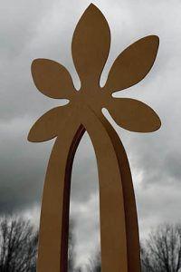 Modern Sculpture, Sculpture Art, Corten Steel, Adele, Ceiling Fan, Abstract Art, Symbols, Gardens, Garden Ideas