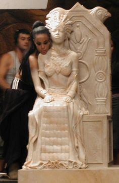 Akasha - behind the scenes - Queen of the Damned - Aaliyah