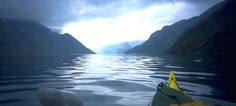 Jotunheimen Norway | Kayaking at Lake Gjende in Jotunheimen, Norway - Beautiful=^)