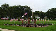 Glen Carbon Veterans Memorial 9-11