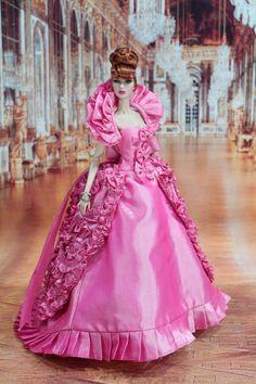 new  dress for Fashion royalty , nuface barbie silkstone by t.d.fashion 7/5/2 #tdfasiondoll