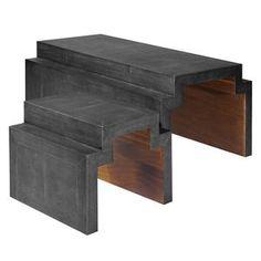 t nesting tables by michael boyd for planefurniture home nesting rh pinterest com