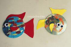 rainbow fish art and math activities #crayonfreckles