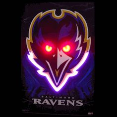"BALTIMORE RAVENS NEON/LED PICTURE-NN3RAVEN  23"" wide, 35"" high, 1"" deep  Show your love for Maryland's finest footballers with our Baltimore Ravens Neon/LED Poster. The hand blown neon tubing is complemented with bright, multi-colored LED lights. The Baltimore Ravens Neon/LED Poster will bring the warm neon glow and illuminating brightness of LED to your space. This Baltimore Ravens Neon/LED Poster measures 23"" wide, 35"" high, and 1"" deep."