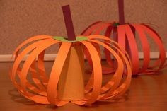 maybe I could use the strips for sequencing one of my many pumpkin stories, and then they could glue them to the tp tube or something else cylindrical? Cute Halloween, Holidays Halloween, Halloween Crafts, Halloween Decorations, Bricolage Halloween, Autumn Crafts, Fall Crafts For Kids, October Preschool Themes, Preschool Ideas