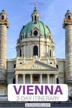 Are you planning your Vienna itinerary and wondering about the best things to do in Vienna in 2 days? Then check out this post to find out how to spend 48 hours in this beautiful city - where to go and what to see plus many more travel tips. Packing For Europe, Europe Travel Guide, Travel Guides, Italy Travel, Budget Travel, Best Places To Travel, Best Cities, Places To Go, Austria Destinations