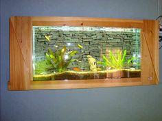 Layout dari Desain Aquarium Dinding » Gambar 7