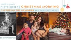 Photographing Christmas Morning Memories | Photo Tips from Paint the Moon Photoshop Actions