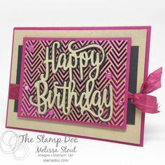 Foil Frenzy Happy Birthday