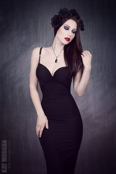 "Model: Kay Morgan | Title: ""Black roses"" | Photography & Edit: Kay ..."