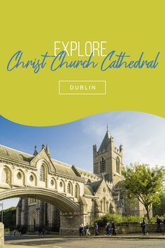 Dublin's Christ Church Cathedral has attracted pilgrims for almost 1,000 years, and today one of its biggest attractions is its medieval crypt. There are plenty of other reasons to visit, but some may be fascinated by the Chapel of St Laurence O'Toole – a heart-shaped shrine contains the saint's embalmed heart! Click the pin for more of Dublin's top attractions. Dublin Attractions, Dublin City, Cathedral, Ireland, Medieval, Christ, Pilgrims, Culture, Explore