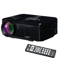 [$55.60] Uhappy U35 800LM Home Theater 640*480 Mini Projector with Remote Control, Support HDMI + SD + USB + TV + AV + VGA(Black)