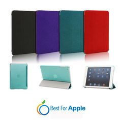 iPad mini Smart Cover with clear back case