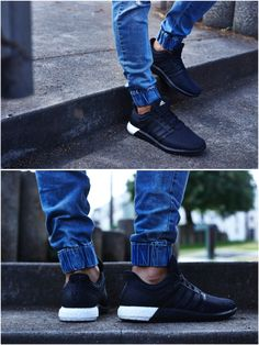 ON-FOOT LOOK // ADIDAS SOLAR BOOST