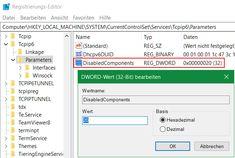 Windows IPv4 bevorzugt anstatt IPv6 Anwenden und Konfigurieren. Die Affine Koexistenz von IPv6 und IPv4 für Ressourcen in der Übergangszeit, ist für Netzwerk Umgebungen mit Windows Domänen nicht ohne weiteres erwünscht, es kann zu unerwarteten Störungen bei der Namensauflösung kommen, so können Verbindungen zu Netzlaufwerke ausfallen. Timeline, Bar Chart, Windows, Disk Drive, Bar Graphs, Ramen, Window