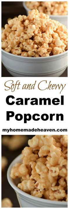 This caramel popcorn is SO addicting!! We couldn't stop eating it!