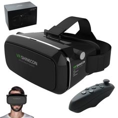 Find More 3D Glasses/ Virtual Reality Glasses Information about Original VR Shinecon Virtual Reality 3D Glasses Google Cardboard 2.0 VR Headset Helmet 3D VR Box Glasses For 3.5~6 Smart phone,High Quality glasses repair,China movie screen glasses Suppliers, Cheap glasses factory from GUANGZHOU CRECASE FLAGSHIP STORE on Aliexpress.com