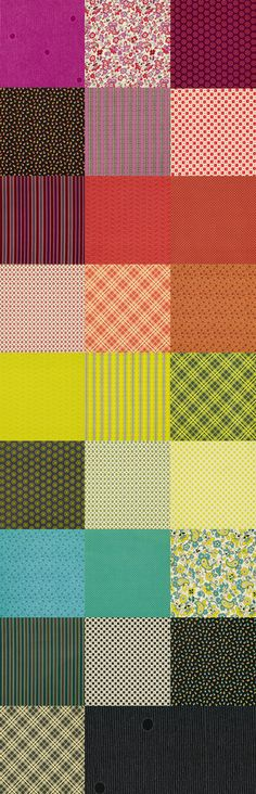 Fancy Tiger Crafts: New Denyse Schmidt Chicopee Fabrics & Precuts!