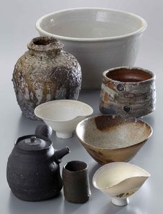This collections says it all - totally my taste in ceramics. -mw