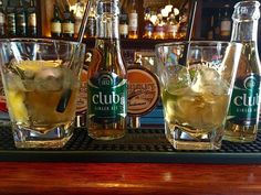 Sipping Irish originals  ➖➖➖➖➖➖➖➖➖➖➖➖  Currently drinking at: The Palace Bar ➖➖➖➖➖➖➖➖➖➖➖  OURS: Jameson Whiskey, Irish Club Ginger Ale, Topped with fresh lime