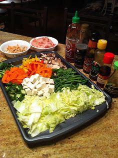 Mongolian BBQ at Home ~ Chef Julia