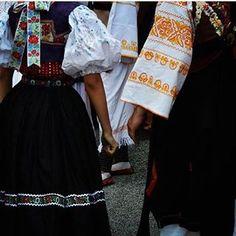 Podpolanie, Slovakia Folk Clothing, European Countries, Czech Republic, Cheer Skirts, Embroidery, Red, Image, Instagram, Fashion