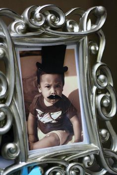 Baby mustache :)