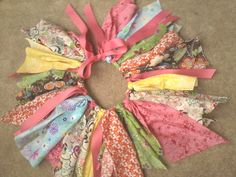 Multicolor Fabric Tutu by IzzyBBoutique on Etsy, $20.00