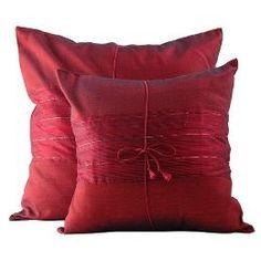 Thai Silk Pillows...
