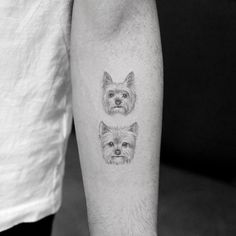 13 of the Cutest Animal Tattoos You Have to See - tatoos - Tier Tribal Tattoos, M Tattoos, Tattoos Skull, Tattoo You, Sleeve Tattoos, Horse Tattoos, Wing Tattoos, Celtic Tattoos, Lion Tattoo