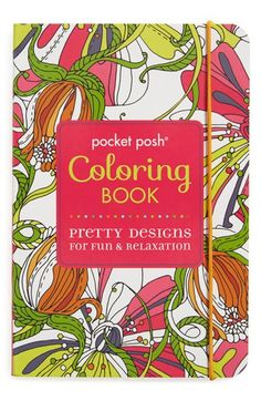 Simon and Schuster 'Pocket Posh' Coloring Book available at #Nordstrom