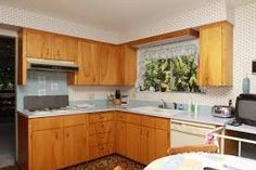 Image result for 60's kitchen cabinets 60s Kitchen, Kitchen Cabinets, Image, Home Decor, Decoration Home, Room Decor, Kitchen Cupboards, Interior Design, Home Interiors