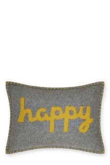 Happy Felt Cushion