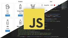 OFF Udemy coupon - VanillaCartJS - JavaScript Shopping Cart. Create A Real World Shopping Cart Project And Learn JavaScript Along The Way Javascript Cheat Sheet, Code Meaning, Free Courses, Online Courses, Writing Code, Learn Programming, Software Development